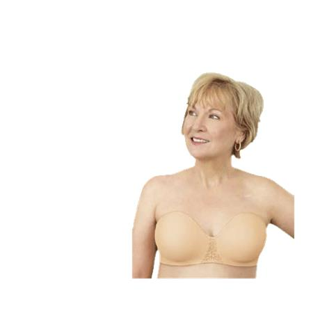 ABC Seamless Strapless Mastectomy Bra Style 112 10257