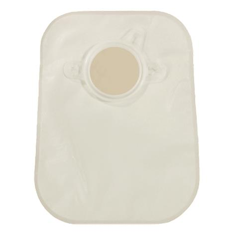 """Genairex Securi-T Two-Piece Opaque Closed Pouch With Belt Tabs,Flange Size: 1-3/4"""" (45mm),30/Pack,7408134"""