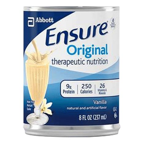 Abbott Ensure Original Therapeutical Drink,Butter Pecan,8fl oz,Can,24/Case,64935