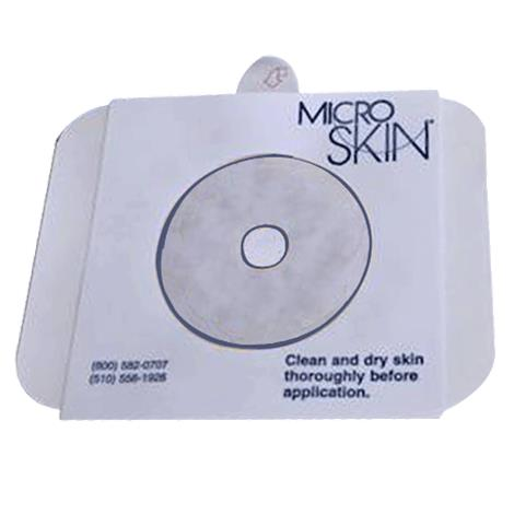 """Cymed Two-Piece Transparent Skin Barriers with Thick MicroDerm Washer,Pre-Cut,For Stomas Upto 1-1/4"""" (32mm),5/Pack,78032"""
