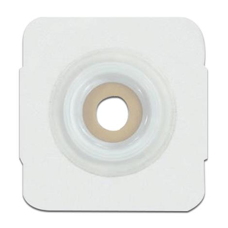"""Genairex Securi-T Two-Piece Convex Extended Wear Pre-Cut White Skin Barrier Wafer,Stoma Opening: 1"""" (25mm),5/Pack,7825134"""