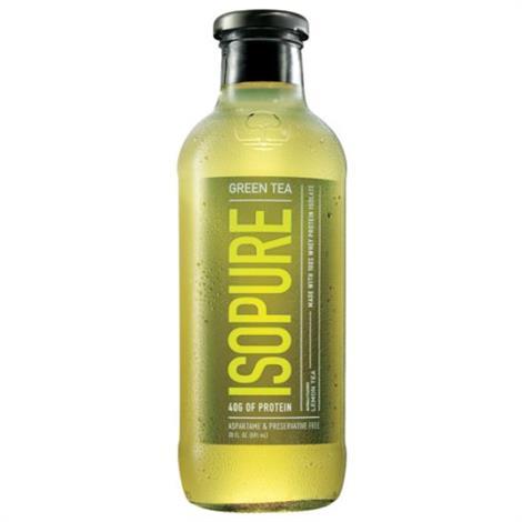 Isopure Green Tea,LEMON,12/Pack,20660