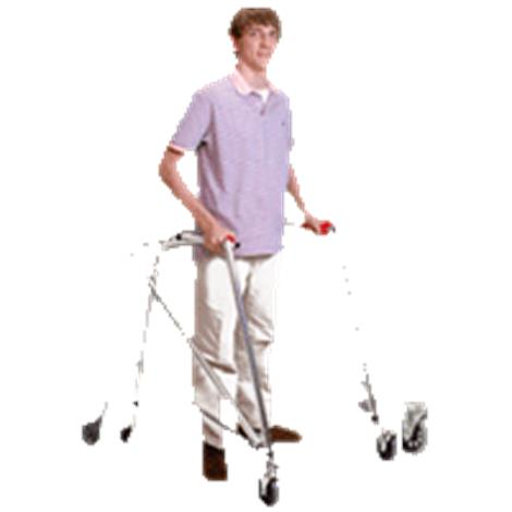 Kaye Posture Control Four Wheel Walker With Front Swivel And Silent Rear Wheel For Small Children,0,Each,W1/2BSX