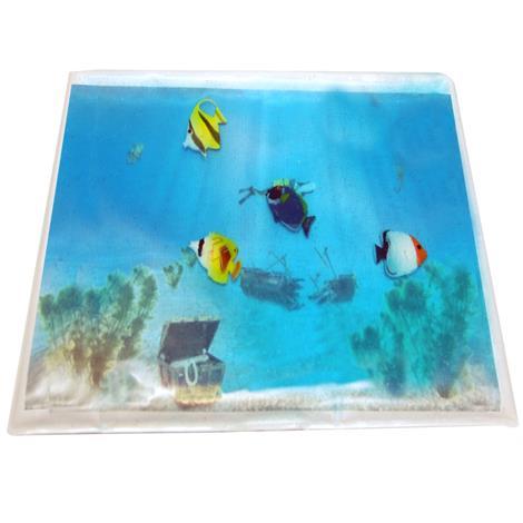 """Skil-Care Stimulating Gel Aquarium Lap Pad,Gel Aquarium with 4 Fish,19""""W x 12""""D,Each,912422"""