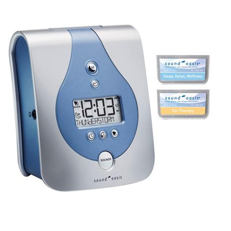 Sound Oasis Sleep Sound Therapy System With Two Sound Card,Sleep Sound Therapy System with 2 sound cards,Each,S-650-02