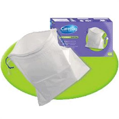 "Cleanis CareBag Vomit Bag With Super Absorbent Pad,9-13/16"" x 9-13/16"" (25cm x 25cm),20/Pack,21Pk/Case,7733987"