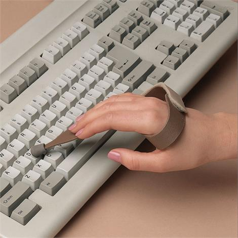 Slip On Typing/Keyboard Aid,Slip On Typing/Keyboard Aid,Large,Left,Each,409302