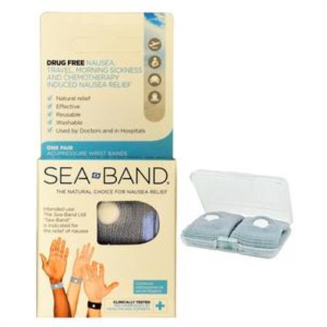 Sea-Band Adult Acupressure Wrist Band,Adult,Each,710016U