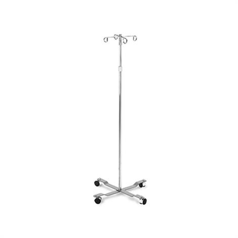 "Hausmann Four Hook IV Pole,18""W x 18""D x 49""-85""H,Each,2188"