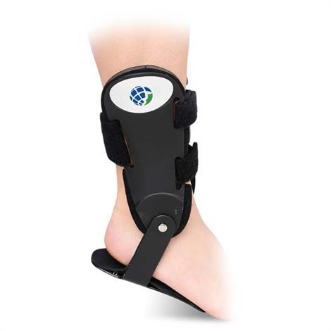 Advanced Orthopaedics Ankle Helper Hinge Brace,Left Ankle,Large,Each,19-0050L