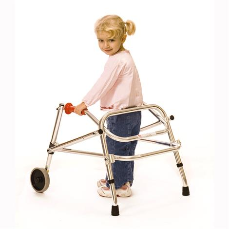 Kaye Posture Control Two Wheel Walker For Small Children,0,Each,W1/2B