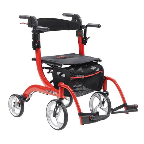 Drive Nitro Duet Rollator and Transport Chair,Drive Nitro Duet Rollator,Each,RTL10266DT