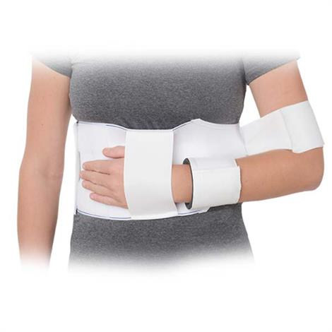 Advanced Orthopaedics Elastic Shoulder Immobilizer,Medium,Each,2815