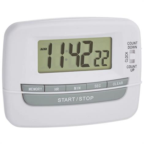 Large Digit Hand Held Timer,3-1/2L x 3W,3/Pack,81601764
