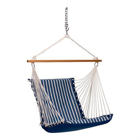 Algoma Comfort Cushion Hanging Chair,26 W x 22 D x 28 H Inches,Each,40314