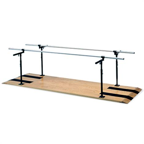 Hausmann Height And Width Adjustable Parallel Bars,10 Ft Length,Each,1390