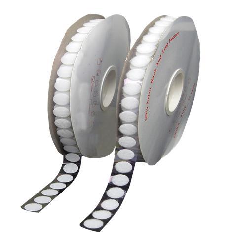 Skil-Care Adhesive Back Hook And Loop Dots,Adhesive Back Dots,3/4 Diameter,100/Pack,913300