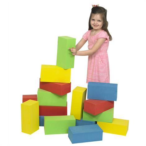 """Childrens Factory Megablocs,12"""" x 6"""" x 4"""",Each,1161"""