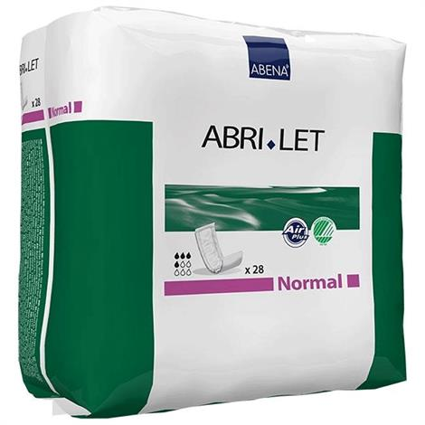 Abena Abri-Let Normal Incontinence Pads,11cm x 39cm,Absorbency level: 500 ml,28/Pack,300216