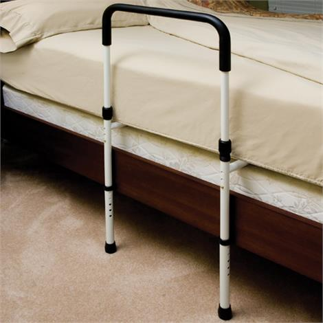 Essential Medical Endurance Hand Bed Rail with Floor Support,Standard Without Pouch,Each,P1411
