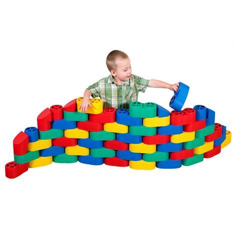 Childrens Factory Snap Blocs Set,Set of 20,Each,1620-20