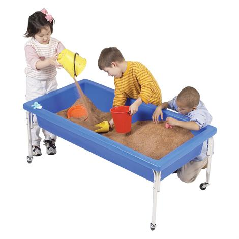 "Childrens Factory Activity Table and Lid Set,50"" x 26"" x 18"",Each,1150-18"