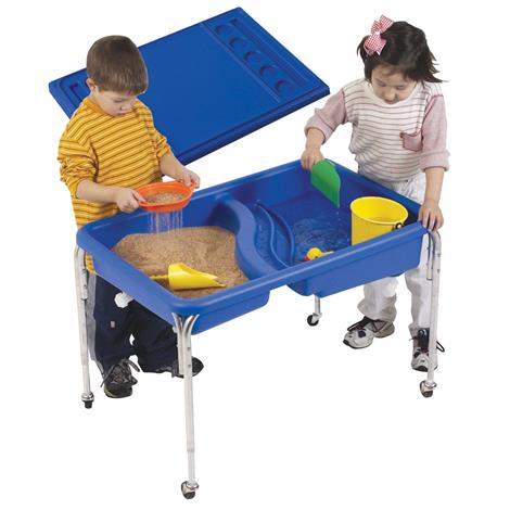 Childrens Factory Neptune Table and Lid Set,36 x 24 x 18,Each,1138-18