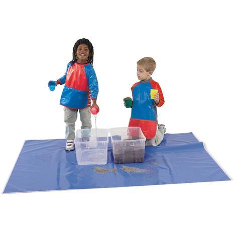 Childrens Factory Rectangular Splash Mat,72 x 50,Each,CF400-023