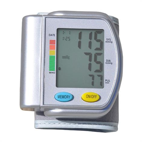 Blue Jay Elite Wrist Pressure Monitor,Wrist Pressure Unit,Each,BJ120110