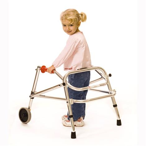 Kaye Posture Control Two Wheel Walker For Pre Adolescent,0,Each,W3B