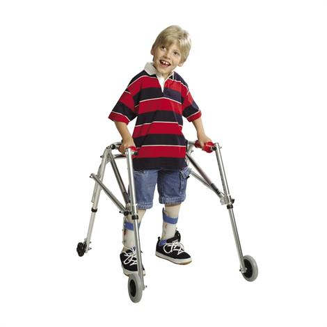 Kaye Wide Posture Control Four Wheel Walker For Pre Adolescent
