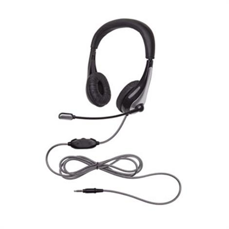 Califone NeoTech Series Headset,unidirectional Microphone,Each,1025MUSB