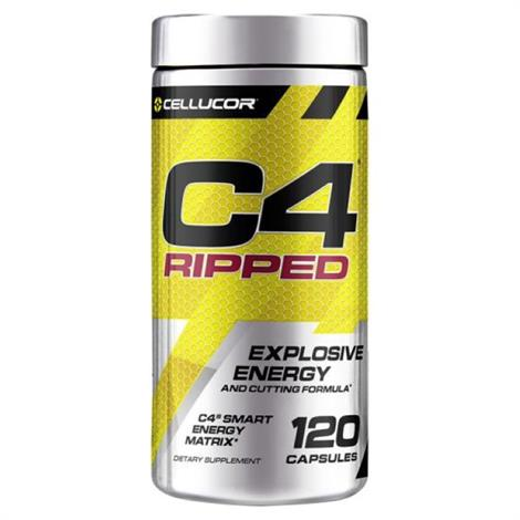 Cellucor C4 Ripped Capsule Body Building ,Uned,120 Capsules,Each,3620391