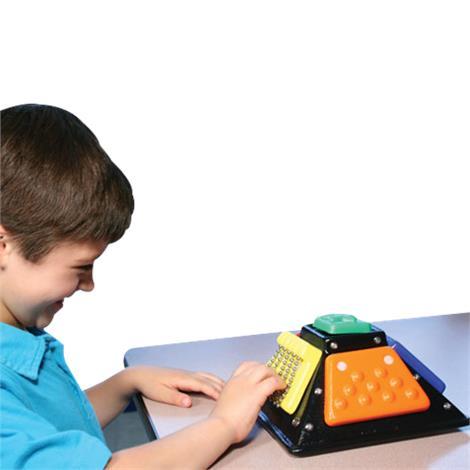 Tactile Mini Cube Desktop Busy Box,Busy Box,Each,3009