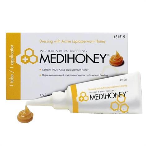 Derma Sciences Medihoney Hydrocolloid Wound Filler Paste - 1.5 Oz,1.5oz Tube,Each,31515