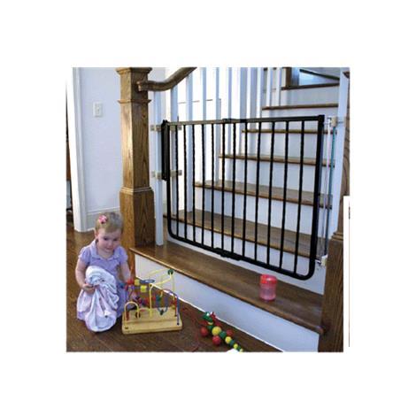 Cardinal Gates Wrought Iron Decor Safety Gate,Black,Each,WI30