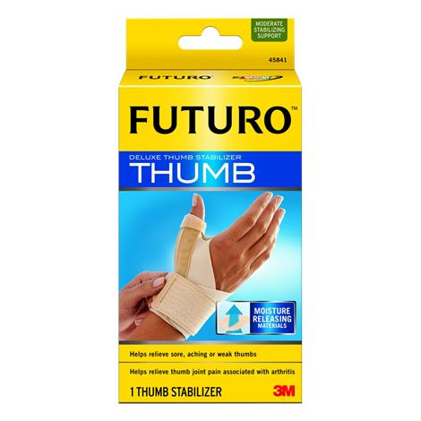 "Futuro Deluxe Thumb Stabilizer,Large / X-Large, 7"" - 7.9"",Each,45842EN - from $14.79"