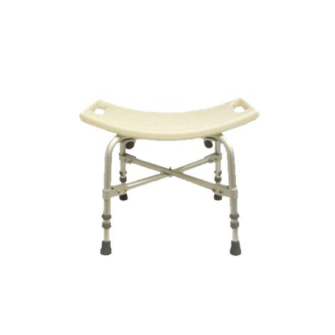 Convaquip Bariatric Shower Stool,Without Back,Each,1701