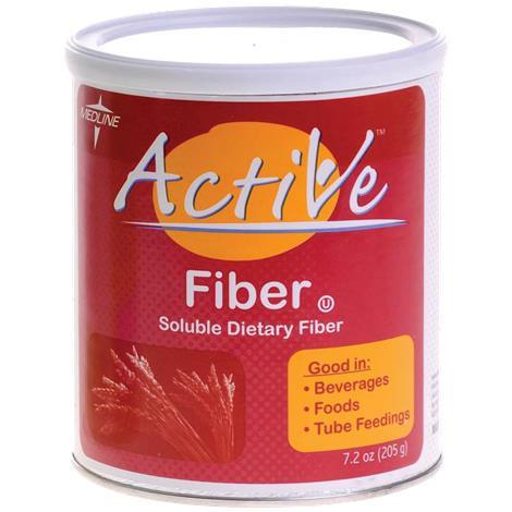 Medline Active Fiber Powder,7.2 Oz Can,4/Pack,ENT32308