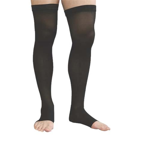 Advanced Orthopaedics Open Toe Thigh High 30-40 mmHg Unisex Compression Stockings With Uni-Band,0,Each,0