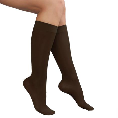 Advanced Orthopaedics Closed Toe Knee High 15-20 mmHg Compression Stocking For Ladies,0,Each,0