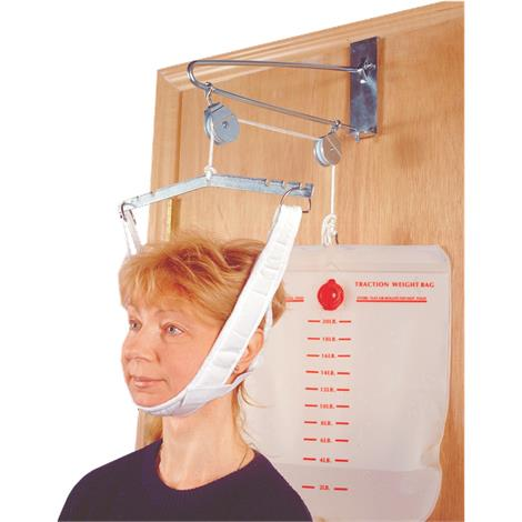 Drive Over Door Cervical Traction Set,Cervical Traction Set,Each,13004
