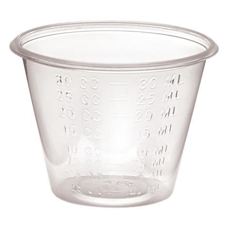 Cardinal Health Medicine Cup,1 oz,100/Pack,MCUP1 55MCUP1pk
