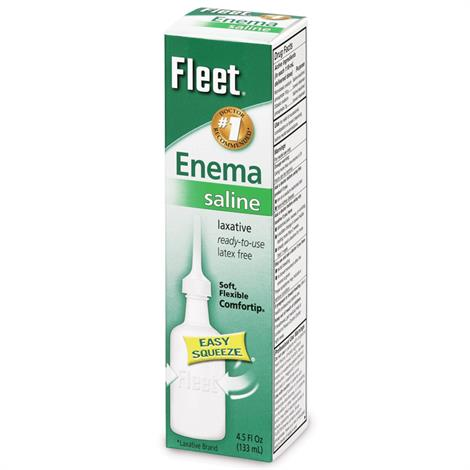 Fleet Saline Laxative Enema,Pediatric,2.25fl oz (66ml),Each,20224