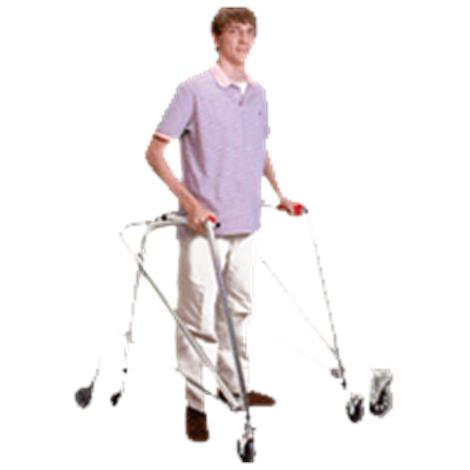 Kaye PostureRest Four Wheel Large Walker With Seat,Front Swivel Wheel And Forearm Support Option