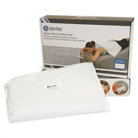 "BodyMed Digital Moist Heating Pad,14"" X 27"",Each,ZZHP1427"