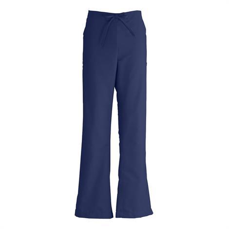 Medline ComfortEase Ladies Modern Fit Cargo Scrub Pants- Midnight Blue,Large,Each,8865JNTL