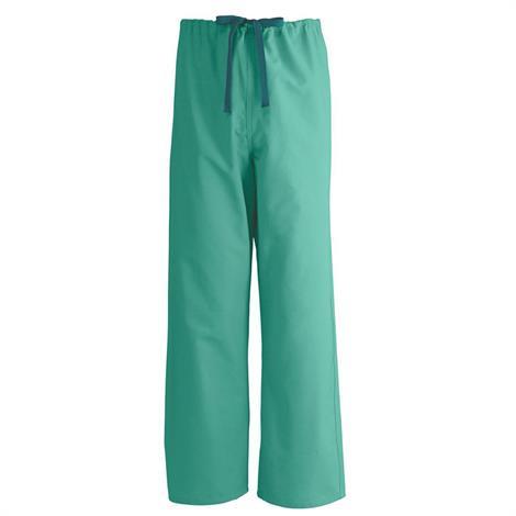 Medline AngelStat Unisex Reversible Drawstring Scrub Pants - Jade,3X-Large,Each,M600NTJ3XL-CM