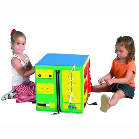 "Childrens Factory Developmental Play Cube,17"" x 17"" x 17"",Each,CF332-473"