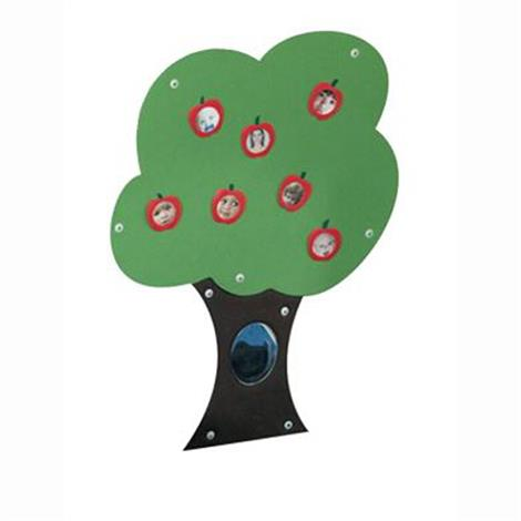 "Childrens Factory Fuzzy Loop Story Tree,42"" x 34"" x 0.375"",Each,CF001-001"